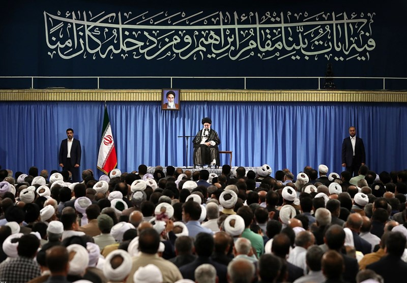 Iran top leader urges Muslims against US, Israel