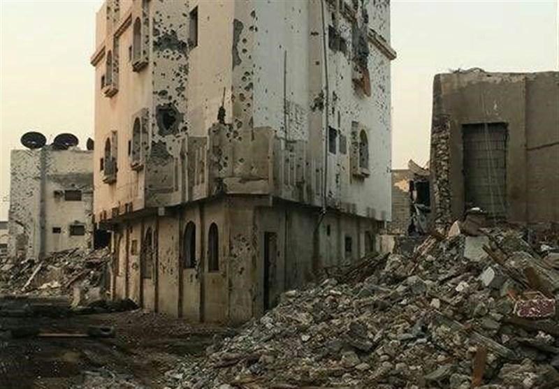 سعودی فورسز کی گولہ باری کے بعد العوامیہ کے خستہ حال مناظر / تصویری رپورٹ