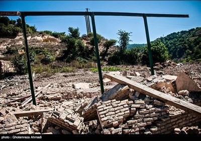 تخریب روستای رودبار بهشهر با آغاز آبگیری سد گلورد