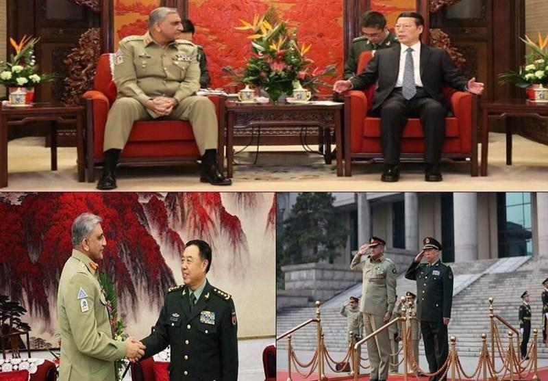 پاک آرمی چیف کی چین پیپلزلبریشن آرمی کے 90ویں یوم تاسیس پر فوجی پریڈ میں شرکت + تصاویر