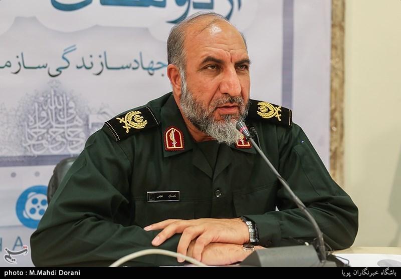 سردار نعمان غلامی رئیس سازمان بسیج سازندگی