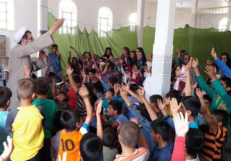 """جشنهای اختصاصی"""" کودکان و نوجوانان"""" توسط خدام حرم رضوی در لرستان برگزار شد+ تصاویر"""