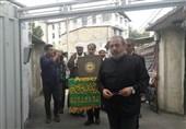 دیدار خادمان رضوی با خانواده شهیدان و جانبازان قطع نخاعی در ساری+ تصاویر