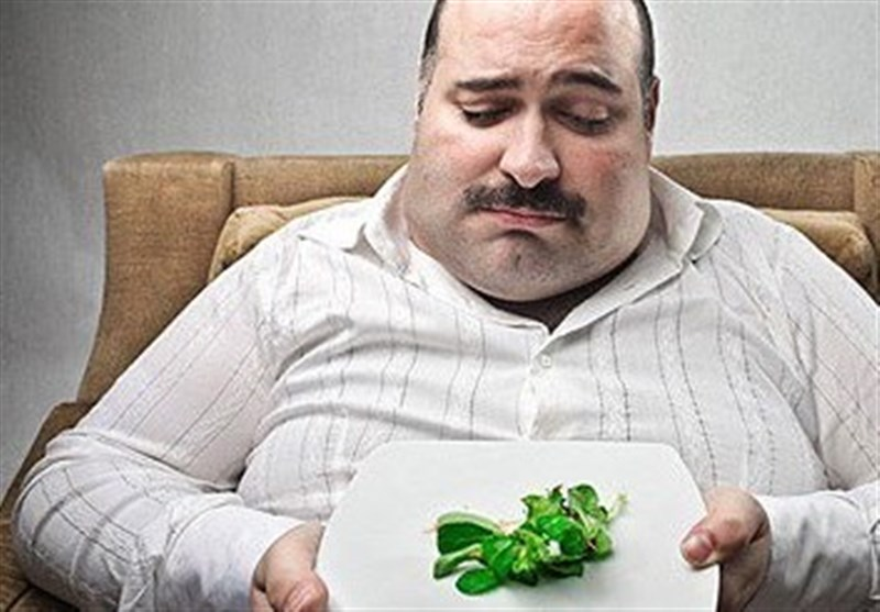 افرادی بلغمی و چاق