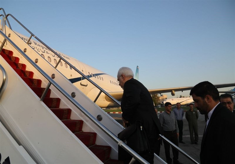 Iran's FM Heads to Turkey for Tripartite Meeting