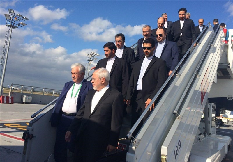Iran's Zarif in Syria for Talks