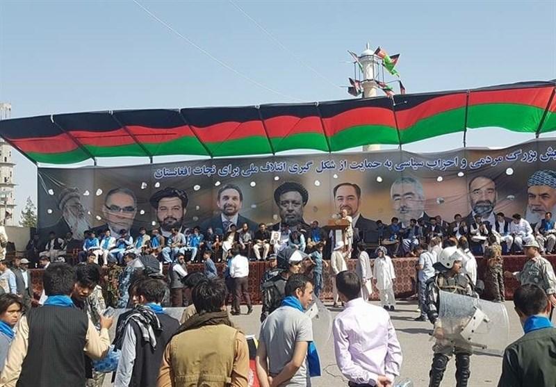 گردهمایی چند هزار نفری در شمال افغانستان برای حمایت از منتقدان اشرف غنی