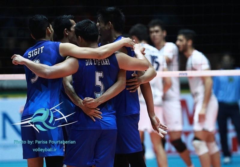 تیم ملی والیبال ژاپن قهرمان آسیا شد