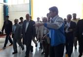 """وزیر نیرو از کارخانه """"آریا ترانسفور"""" شهمیرزاد بازدید کرد + عکس"""