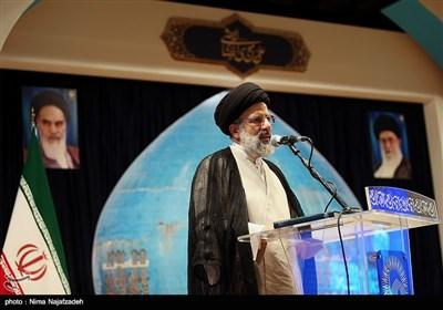 سخنرانی حجتالاسلام سیدابراهیم رئیسی تولیت آستان قدس رضوی در دومین همایش جایزه جهانی گوهرشاد - مشهد