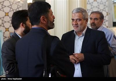 حضور مجید قلیزاده مدیرعامل خبرگزاری تسنیم در دومین همایش جایزه جهانی گوهرشاد - مشهد
