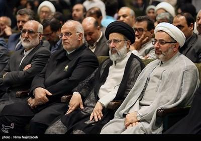 حجتالاسلام سیدابراهیم رئیسی تولیت آستان قدس رضوی در دومین همایش جایزه جهانی گوهرشاد - مشهد
