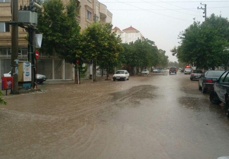 بارشهای سیلابی در مازندران ادامه دارد