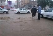 احتمال سیلابی شدن مسیلها در مناطق بارانی