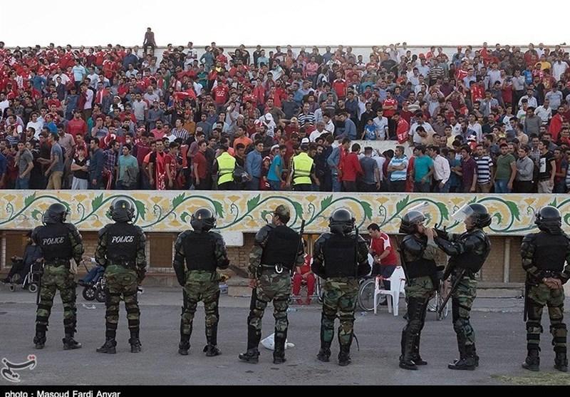 حضور هواداران معترض در تمرین تراکتورسازی