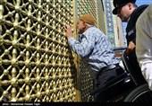 95 سالمند و معلول مشهدی به حرم رضوی مشرف شدند