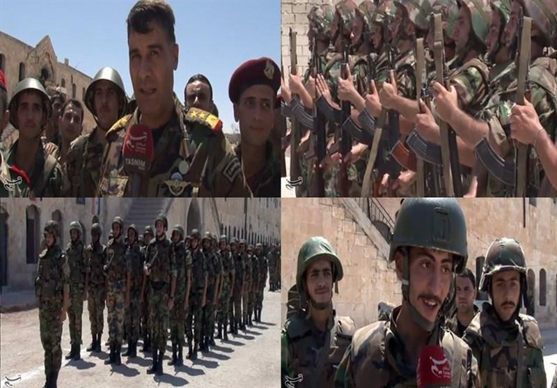 شامی فوج کے قومی دن پر دمشق میں جشن + ویڈیوز اور تصاویر