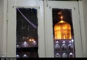 شور حرم در شب میلاد امام رضا(ع)/زائران از حس و حالشان میگویند+فیلم