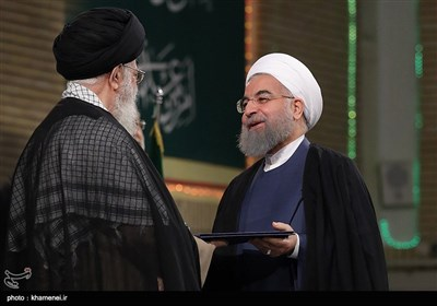 Leader Endorses Rouhani as Iran's President