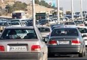 ترافیک در محورهای ورودی و خروجی مشهد مقدس سنگین است