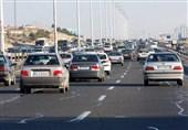 ترافیک در محورهای مواصلاتی مازندران نیمهسنگین است