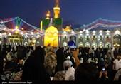 جشن گلباران مردمی حرم رضوی