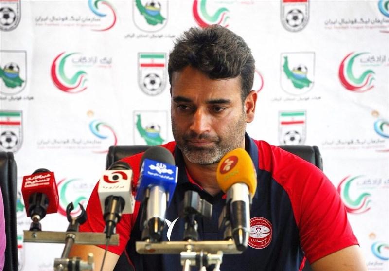 نظرمحمدی: تیمهای کمالوند متکی به ستاره هستند نه کار تیمی/ هدف ما ماندن در لیگ برتر است