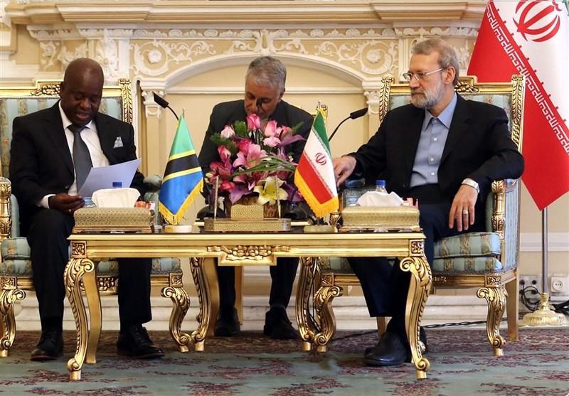 لاریجانی: ایران وتنزانیا تربطهما علاقات جیدة