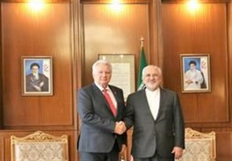 Iran's Zarif, Hungary's Vice-Speaker Discuss Tehran-Budapest Ties