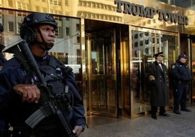 برج ترامپ؛ مقصد راهپیمایی معترضان به قوانین حمل سلاح+عکس
