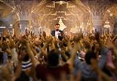 مولودی خوانی محمود کریمی در شب میلاد پیامبر اسلام و امام صادق(ع)