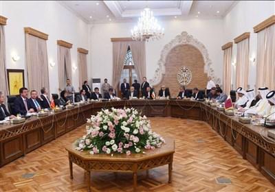 نشست سه جانبه ایران قطر ترکیه