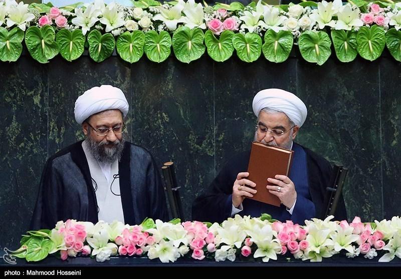 روحانی سوگند یاد کرد + متن سوگندنامه