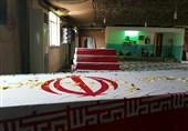 """پیکر پاک شهید """"احمدی"""" به اهواز منتقل شد"""