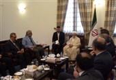 دیدار رئیس مجلس سنای پاکستان با آیتالله جنتی + عکس