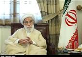 دیدار رئیس مجلس سنای پاکستان با آیتالله جنتی
