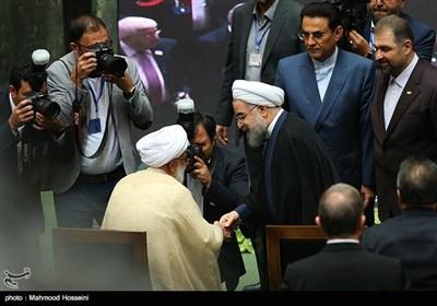 صدر روحانی کی تقریب حلف برداری میں عالمی رہنماوں کی شرکت