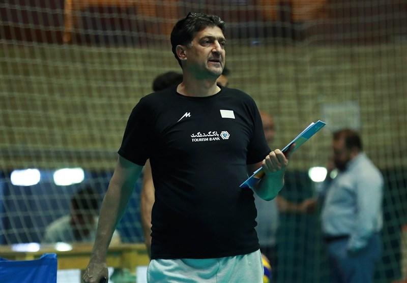 دامغانی: با تیم نصفه و نیمه به تهران آمدیم/ حضور در المپیک مهمترین مسئله والیبال است