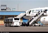 حج تمتع 98| ورود 60 درصد زائران ایرانی به عربستان / 57 درصد پروازها بدون تأخیر