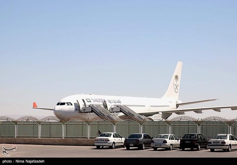 اولین پرواز حجاج ایرانی مشهد