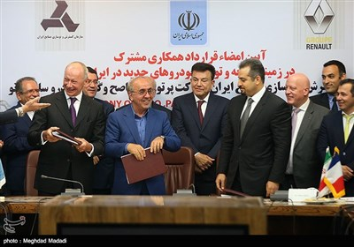 France's Renault Signs Major Auto Deal in Iran