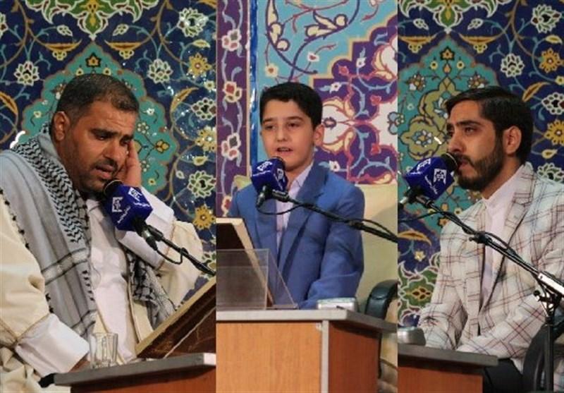 تلاوت موحد امین، الفتلاوی و فیضی در محفل انس با قرآن حرم حضرت عبدالعظیم(ع) + صوت