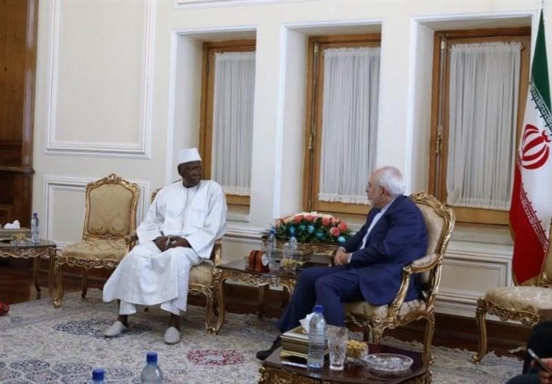 FM Zarif MeetsGambian Vice-Speaker, Discuss Bilateral Ties