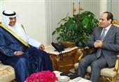 نامه امیر کویت تقدیم السیسی شد/ پیام شفاهی السیسی به قطر