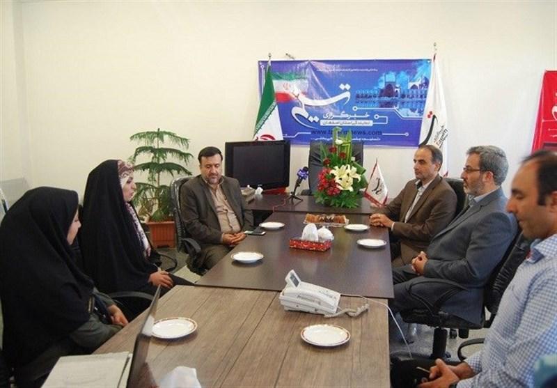 رئیس بازرسی اصناف استان اصفهان از دفتر تسنیم بازدید کرد