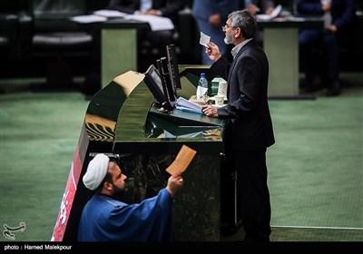 سخنرانی سردار علی مؤیدی قائم مقائم دبیرکل ستاد مبارزه با مواد مخدر در جلسه علنی مجلس شورای اسلامی
