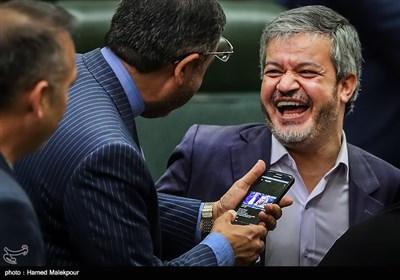 علیرضا رحیمی در جلسه علنی مجلس شورای اسلامی