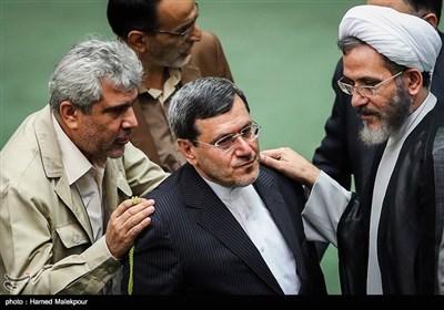 احمد مازنی و حسن قشقاوی در جلسه علنی مجلس شورای اسلامی