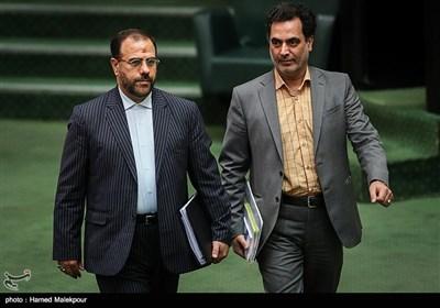 حسینعلی امیری معاون پارلمانی رئیسجمهور در جلسه علنی مجلس شورای اسلامی