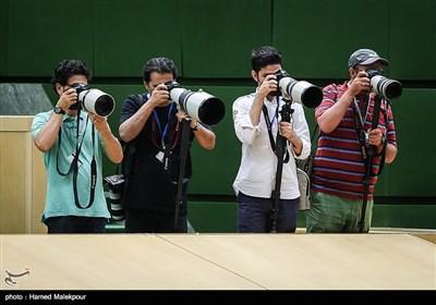 عکاسان خبری در جلسه علنی مجلس شورای اسلامی